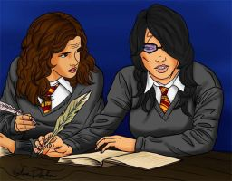Hermione's Concern for Heather by LilyFlorette