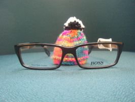 Mini woolley hat in boss glass by LilMickey27
