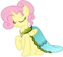 Princess Fluttershy's royal snack by Fluttervore