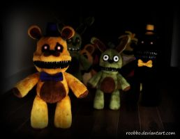 Five Nights At Freddys by roobbo