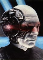 Locutus of Borg by JesterArt