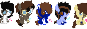 babies for Pegasisterbluerose ~closed~ by Goldenecho
