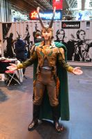 Loki Cosplay at Birmingham Comic-Con 2013 by masimage