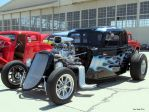 The hot rod with blue fire by decophoto32