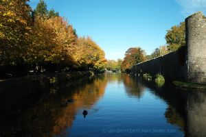 Autumnal Moat 2010 by EarthHart