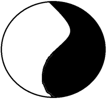 Blank Yin-Yang Circle by ToonFanJoey