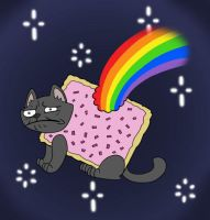Nyan Cat by SurlyQueen