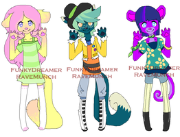 Collab Adopts batch 2 [OPEN] by FunkyDreamer
