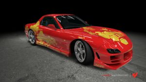 Mazda RX-7 - 2 Fast 2 Furious by OutcastOne