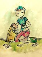 parcel mistress by alalampone