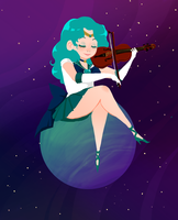 Sailor Neptune by ScrapCity