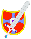 Sword And Shield Recolor by D-Rock92