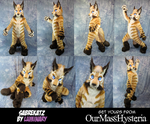 Sabrekatz - Full suit commission by Luminary! by OurMassHysteria