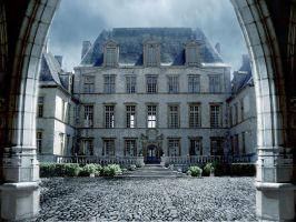 Castle by la-Structure-du-Ciel