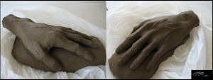 clay - hand model by henkrygg