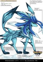 Pokedex 471 - Glaceon FR