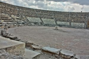 Salamis Ruins, Amphitheater 1 by mariustipa