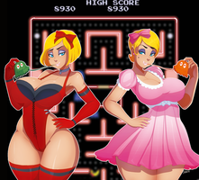 Ms. PAC-MAN by Ladycandy2011