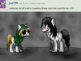 ~Ask~ Question 152 by Hekkoto