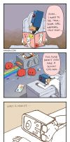 Cave Story 4koma 2 by hydrowing