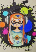 Inkling Girl by SleepyNoodleDoodles