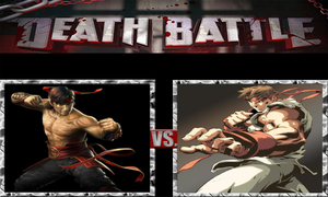 Ryu vs. Liu Kang by ScarecrowsMainFan