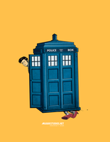 Dr Who..oops by HawkStudios