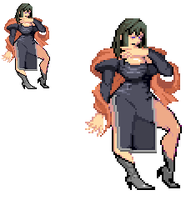Sprite Work: Madame Darkness (Earth-56) by SXGodzilla