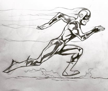 The Flash - Fastest Man Alive by kennf11