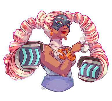 Twintelle-Commission by DavidID