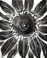 Sunflower Black by Infamous-Mr-Oob