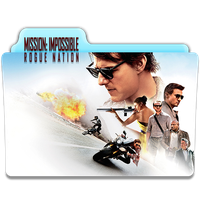 Mission : Impossible - Rogue Nation Folder Icon 2 by gterritory