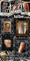 Flyers for Fearless Tattoo by shu01