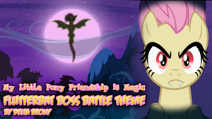 [MLP FiM] Flutterbat Boss Battle Theme Wallpaper by DashieMLPFiM