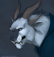 Charr Mage by Silenced-Requiem