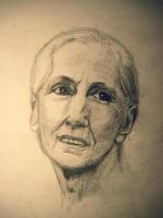 Jane Goodall by Solsteyn