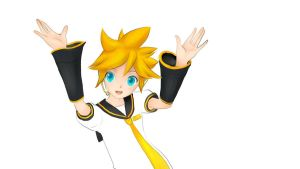 Kagamine Len by smilinglilith