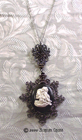Skeleton Cameo in Setting by MorganCrone