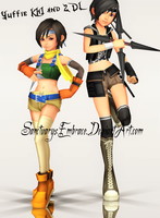 {MMD Download} KH1 + KH2 Yuffie by SanctuarysEmbrace