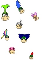 The Koopalings- EDIT by MyVisionIsDying