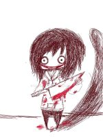 Little Jeff The Killer by MayxXx27x