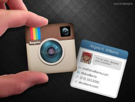 Mini Instagram Business Card by axylus