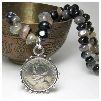 Panama coin Necklace by 925-STUDIO