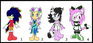Adoptables : closed by HuatayFoxy