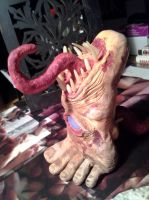 Zombie Foot Monster The Enlightened 4 by Parabolastar