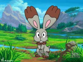 Pokemon Art Academy- Bunnelby