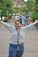 My Excitement at Disney by WhirledlyGoodz