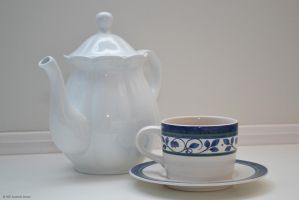 Tea Pot and Cup (2) by aipstock