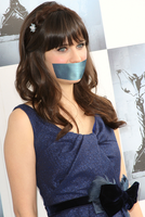 Zooey Deschanel gagged by CuteGirlsGagged