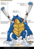 Pokedex 009 - Blastoise FR by Pokemon-FR